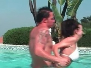 young girls fucked at pool party