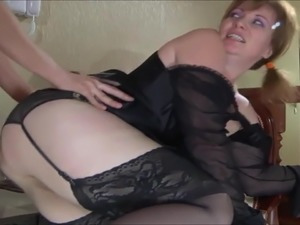 licking my step moms pussy