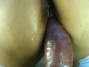 Big Ebony Fucked In Ass And Facial Cumshot