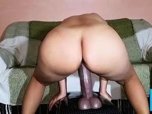Amateur ass fucked