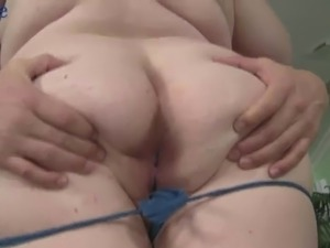 Horny grey haired buddy pulls hair and fucks meaty cunt of BBW Holly Jayde