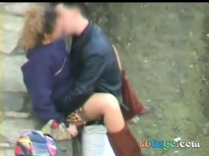 young outdoor fuck video