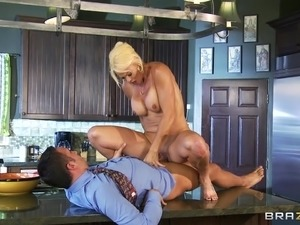 couple kitchen sex video