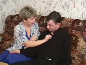 young boy mature mom russian