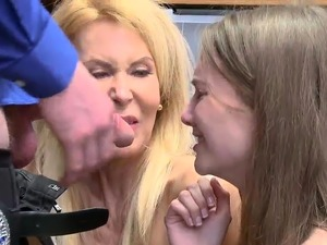made to lick aunts pussy